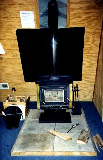 Chalet Wood Stove